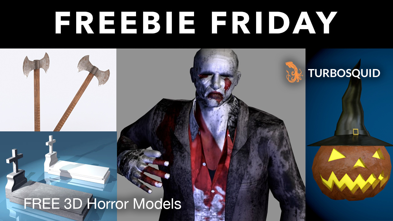 free 3d horror models turbosquid