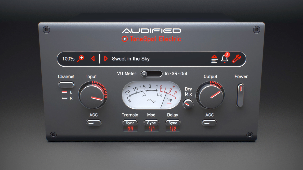 audified tonespot electric express