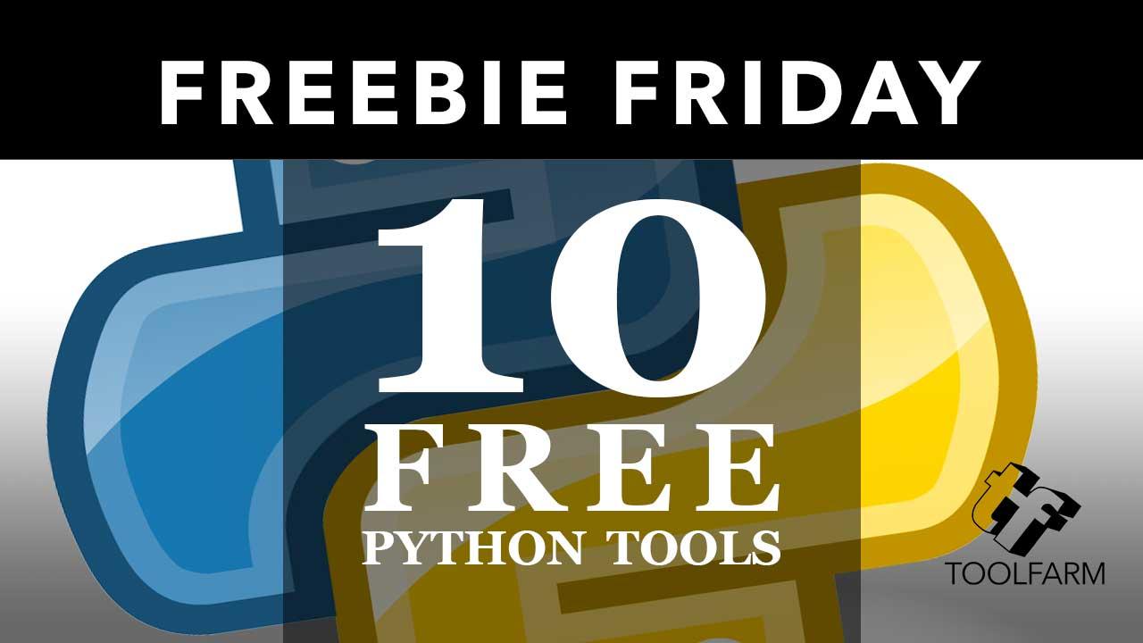 10 Free Python Tools