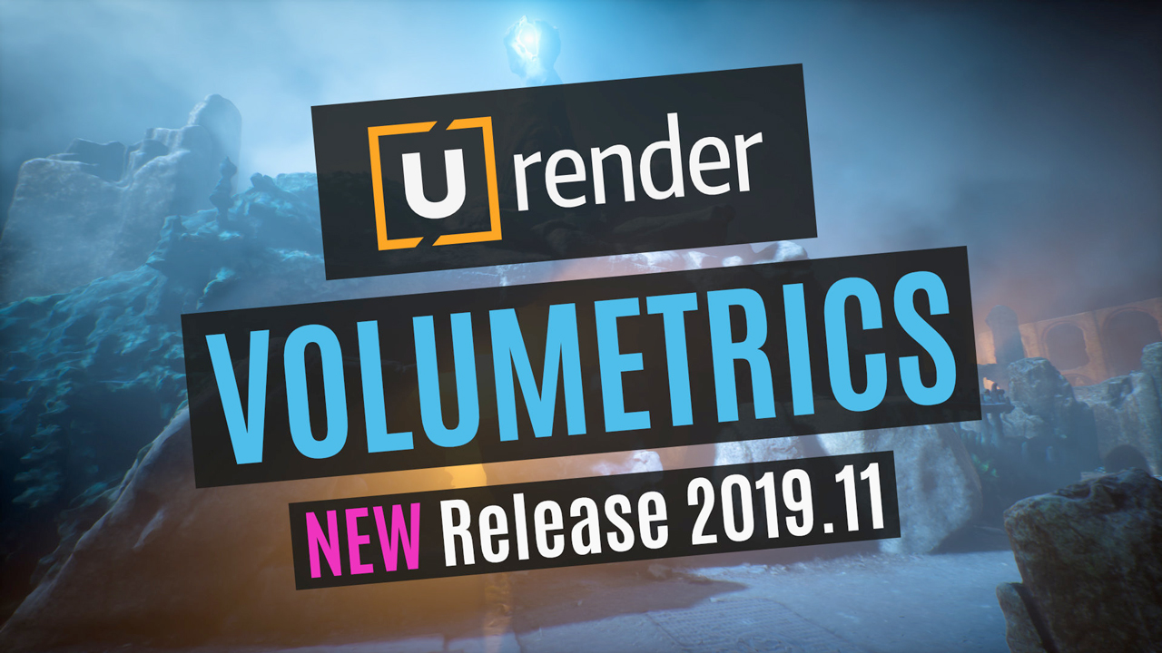 u-render volumetrics