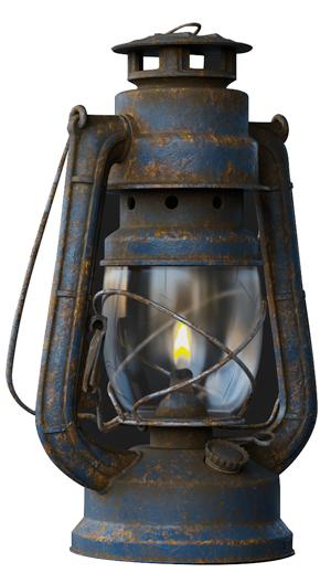 keyshot lantern