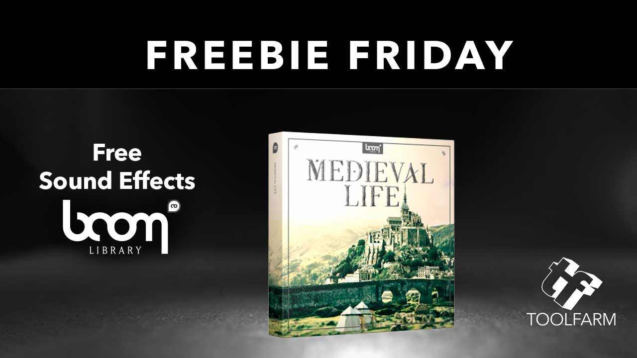 Freebie Friday Boom Library Medieval Life