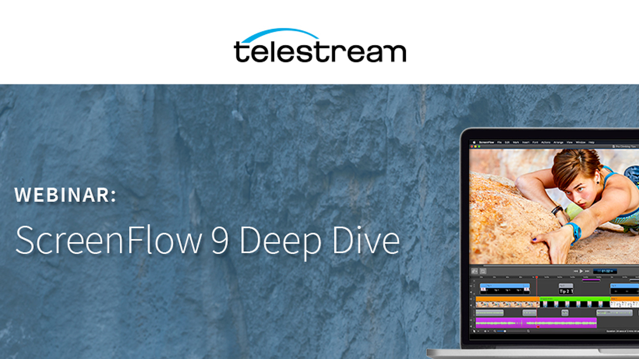telestream screenflow 9 deep dive webinar