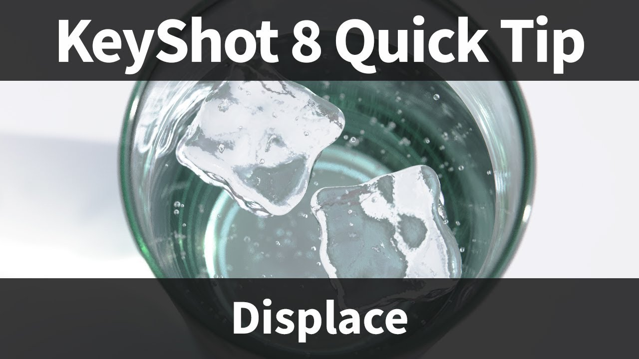 Displace geometry shader keyshot