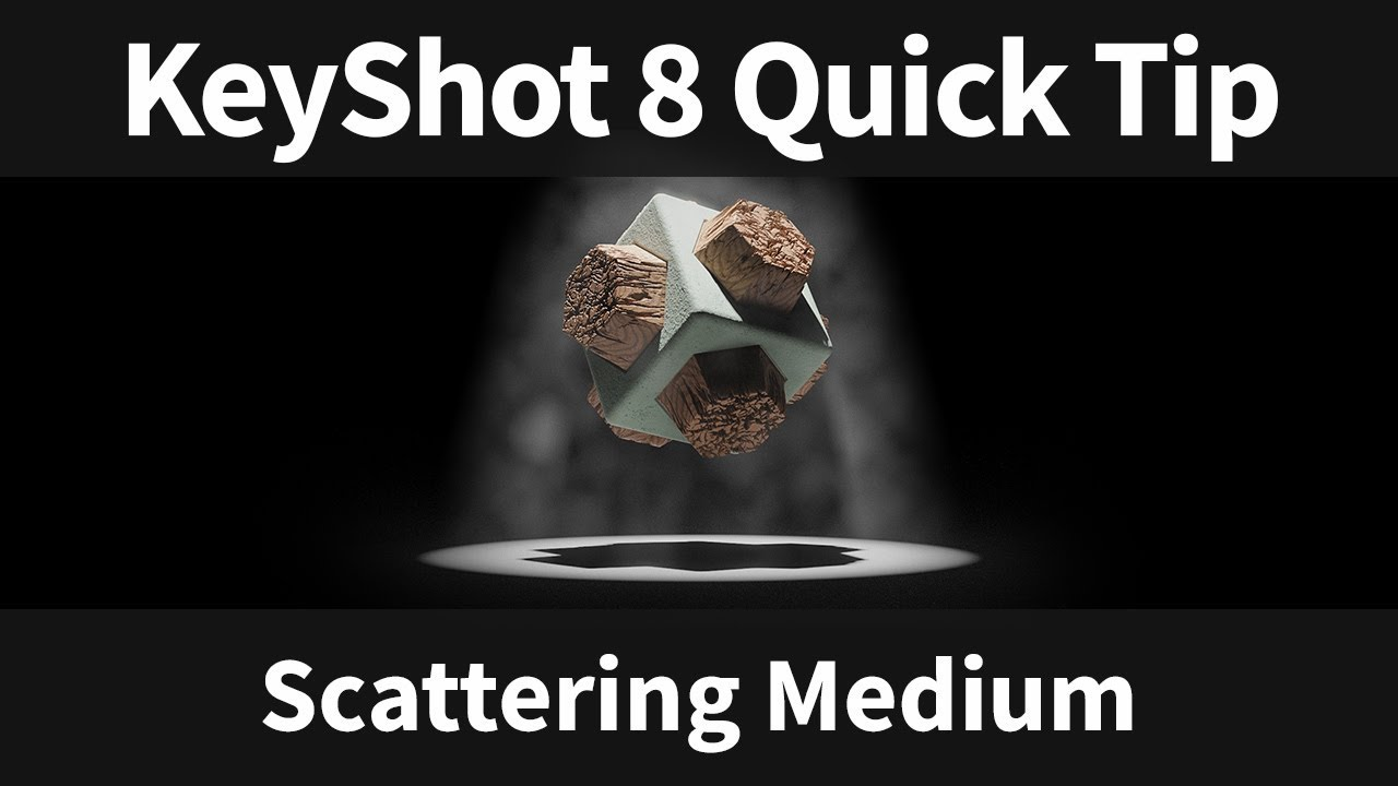 scattering medium keyshot 8