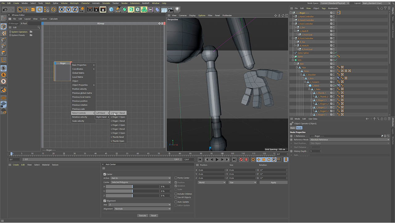 helloluxx character rig arm