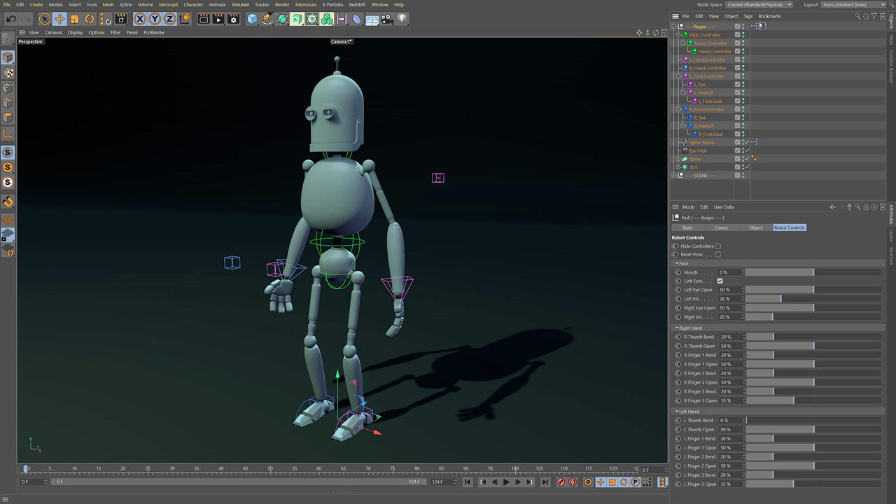 helloluxx character rigging c4d