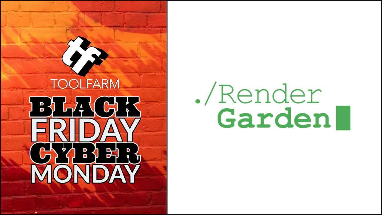 rendergarden black friday sale 2019