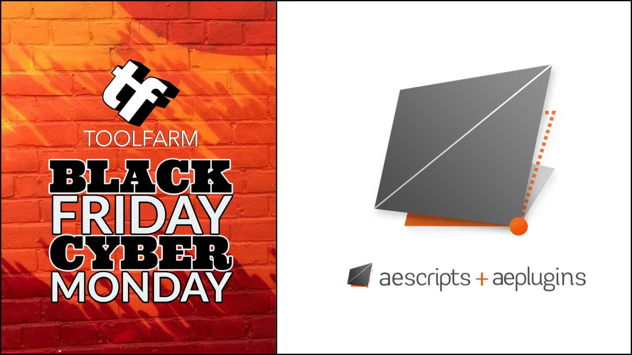 aescripts black friday sale 2019