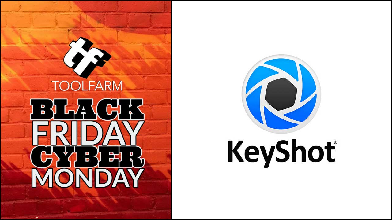 keyshot cyber monday sale