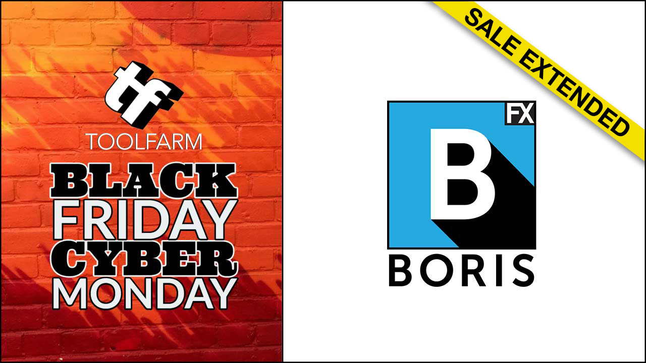boris fx black friday sale extended