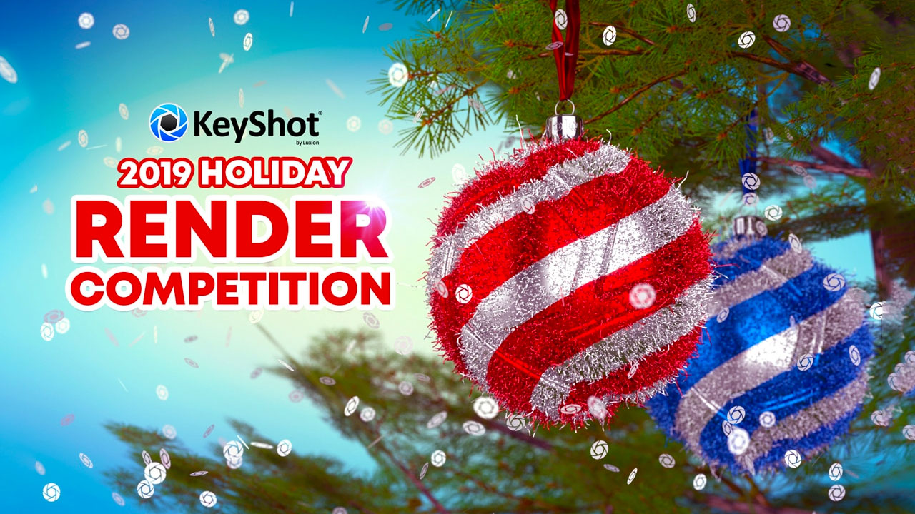 KeyShot 2019 Holiday Render