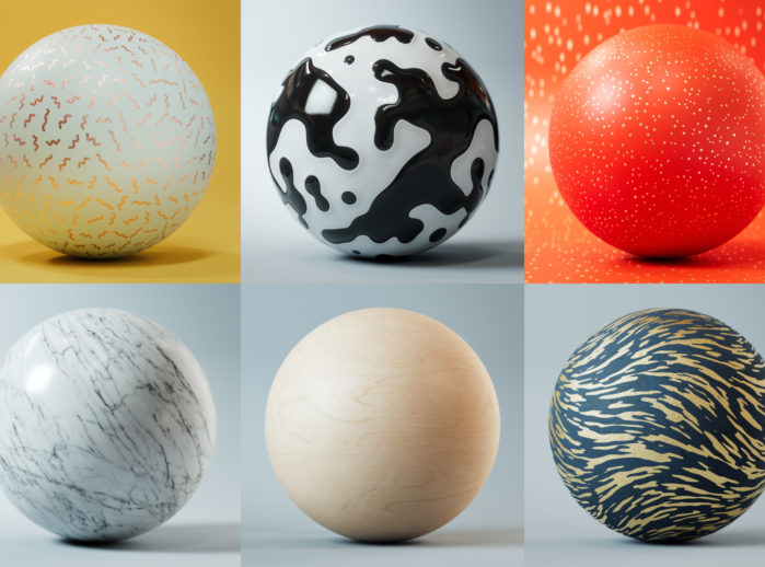 Modern Surface Material Collection