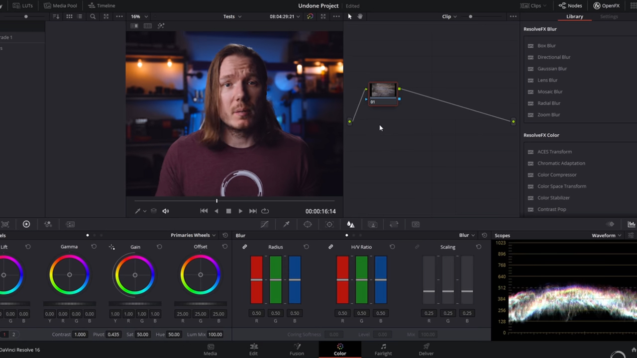 filmconvert nitrate for ofx tutorial