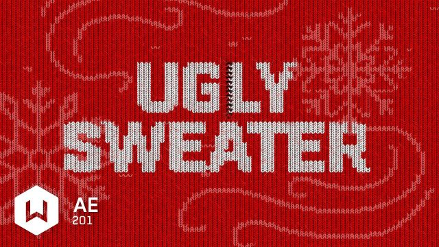 Ugly sweater in After Effects
