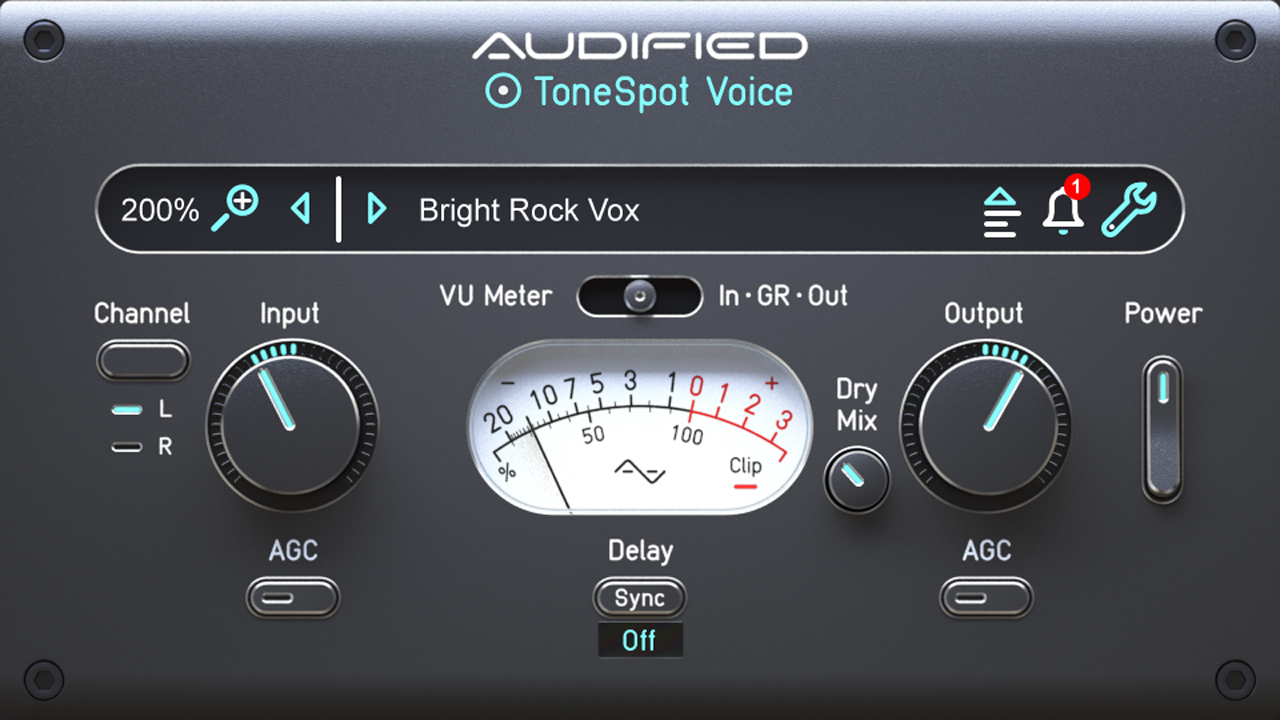 audified tonespot voice express