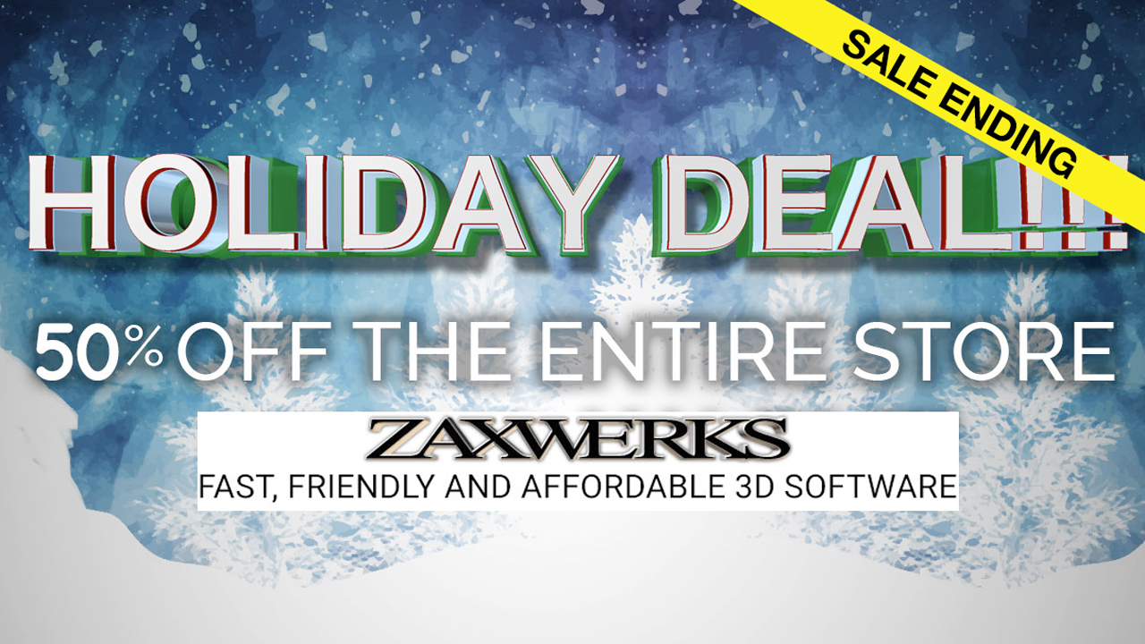 zaxwerks 50% off sale ending