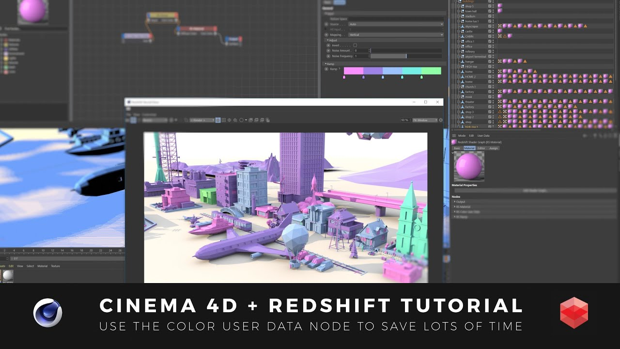In this quick tutorial from Joren Kandel, learn how to use the Redshift Color User Data Node. It'll save you time and make your workflow smoother.