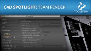 C4D Spotlight Team Render