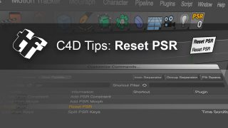 Reset PSR: How to Center any Object in Cinema 4D