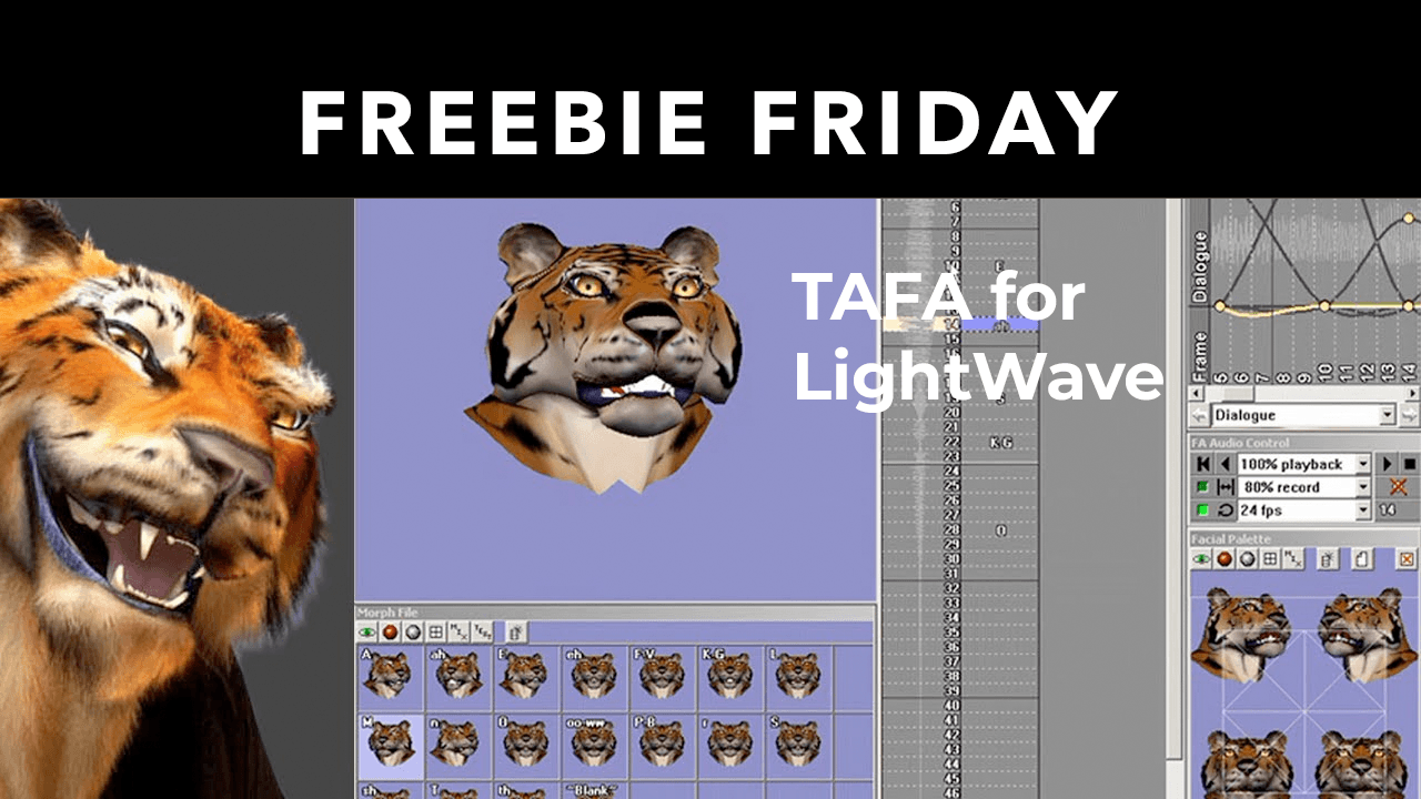 TAFA for LightWave 3D