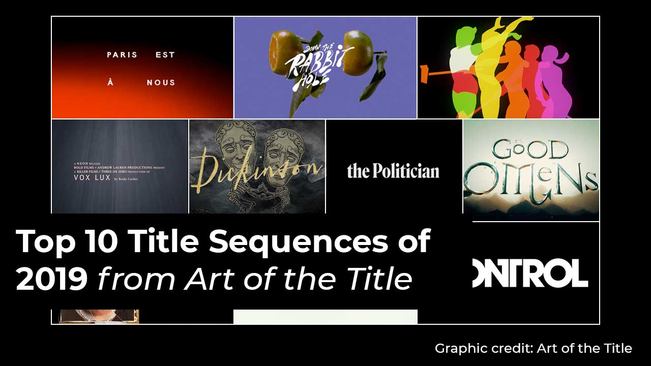 Top 10 Title Sequences of 2019 from Art of the Table