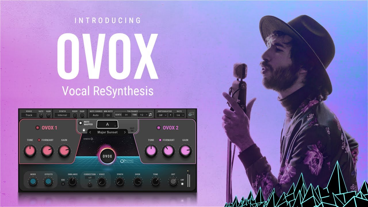 Waves OVox Vocal ReSynthesis OVox Producer Pack: Free Presets by Grammy Winners