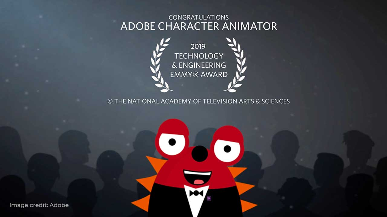 Adobe Character Animator Receives Emmy® Award for Technology and Engineering