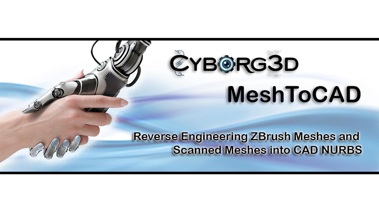 npower cyborg 3d meshToCad