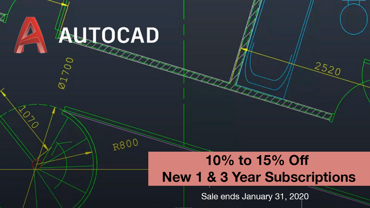 autodesk autocad subscription sale