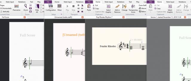 Textures Sibelius 2020