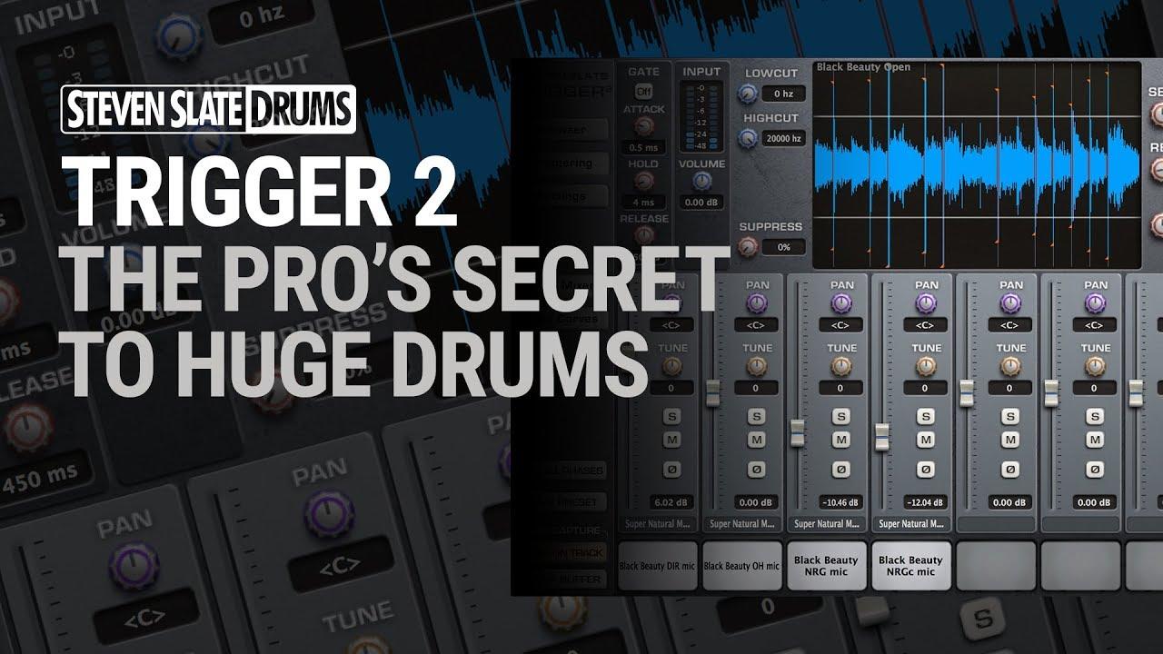 Steven Slate Trigger 2 tutorial