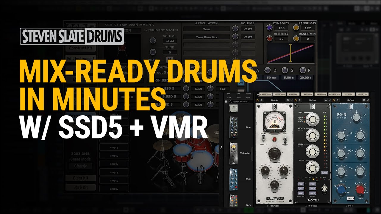 Mix Ready Drums