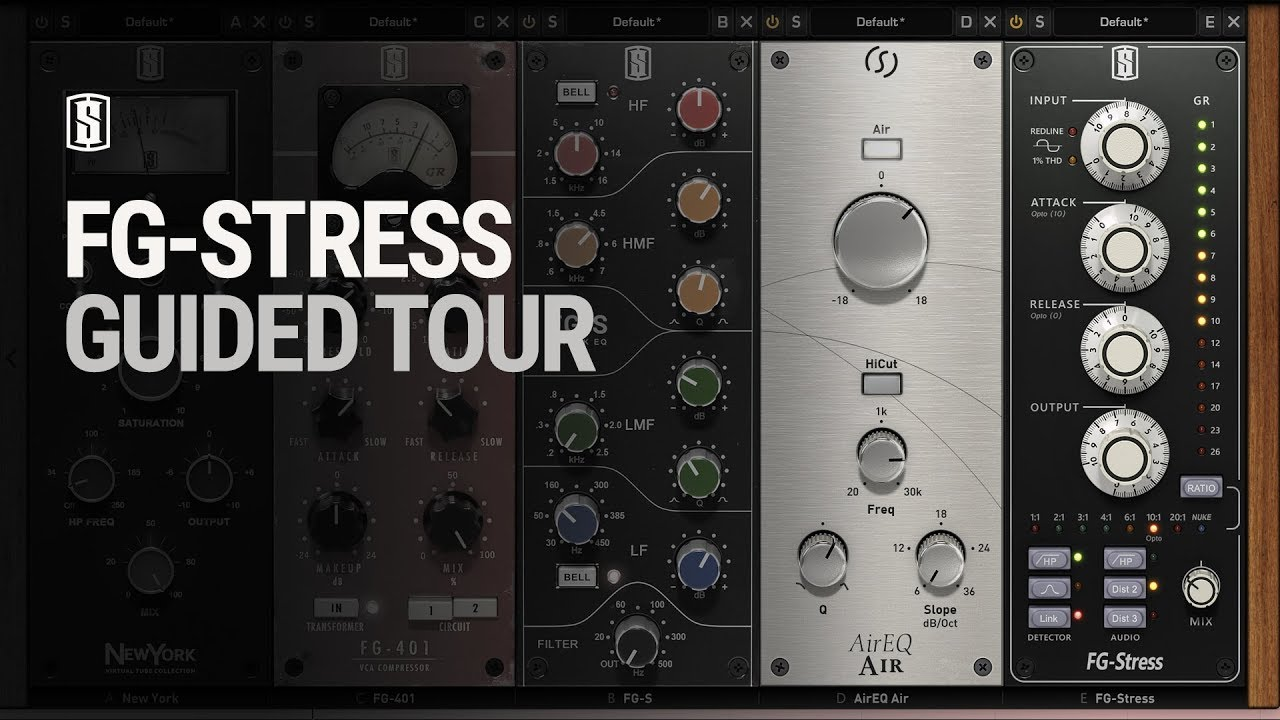 FG-Stress Guided Tour