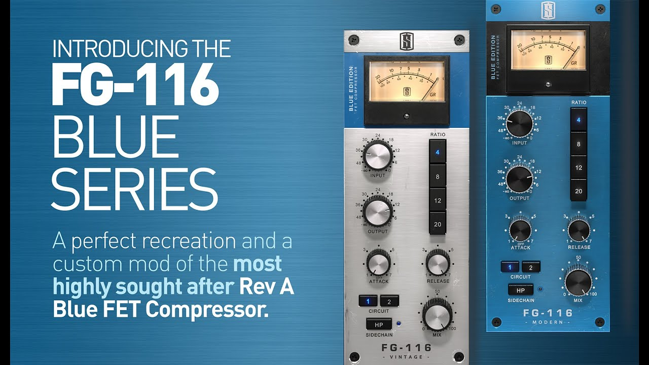 FG-116 BLUE Series Compressors