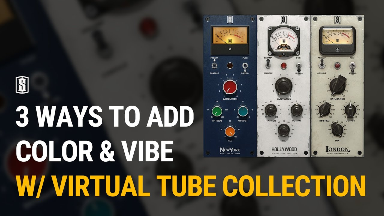 Slate Digital Virtual Tube Collection Mixes