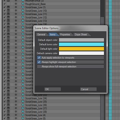 newtek lightwave 3d scene editor