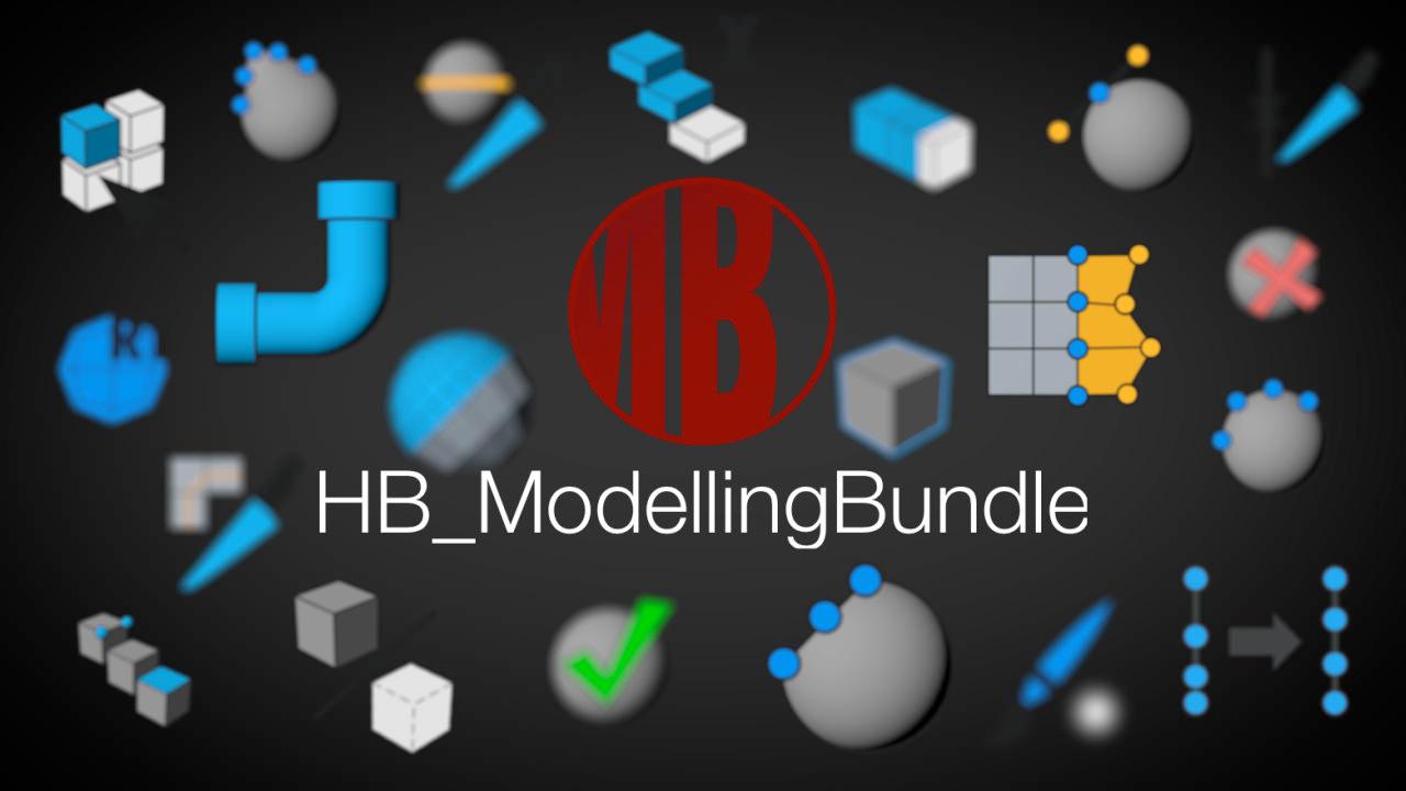 c4d stuff hb modelingbundle