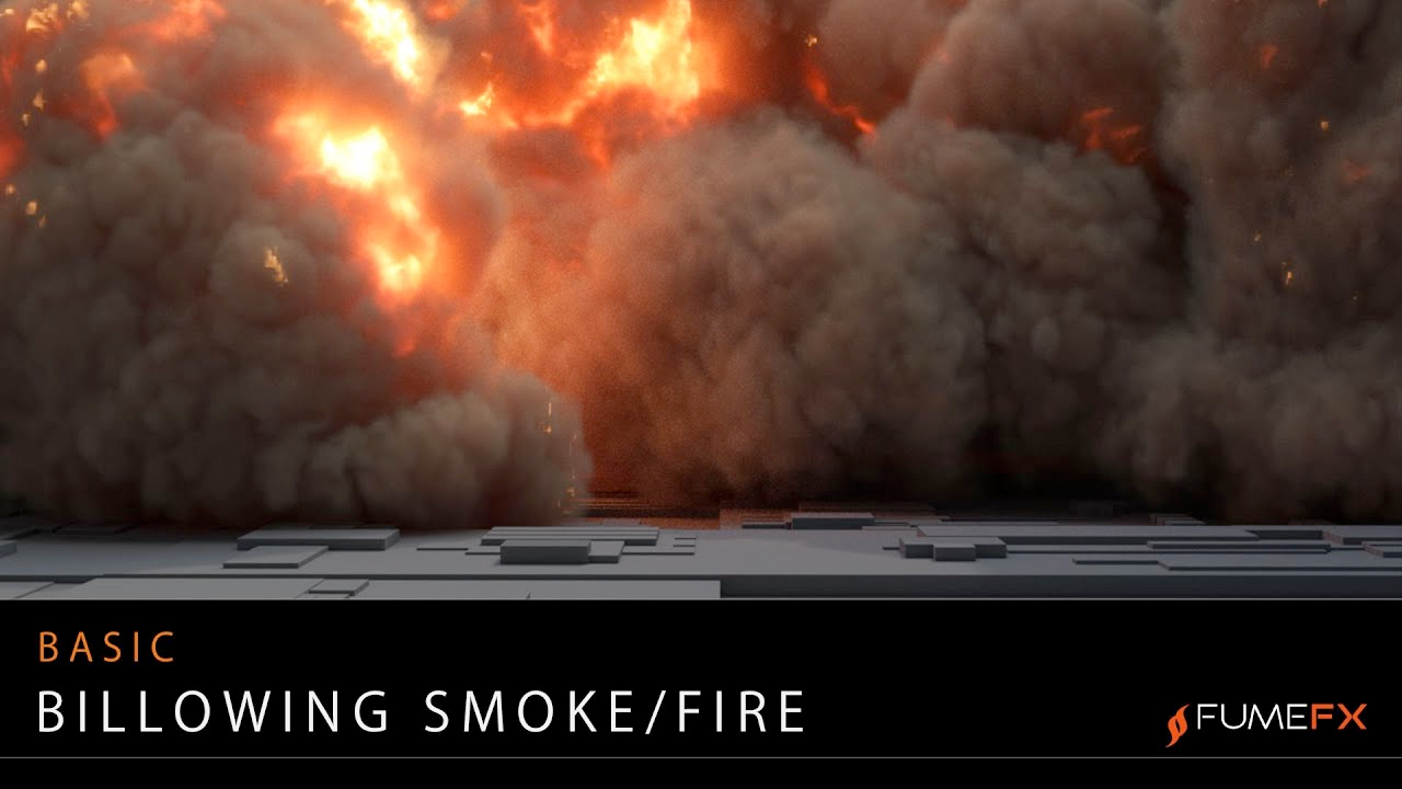 fumefx billowing smoke and fire tutorial
