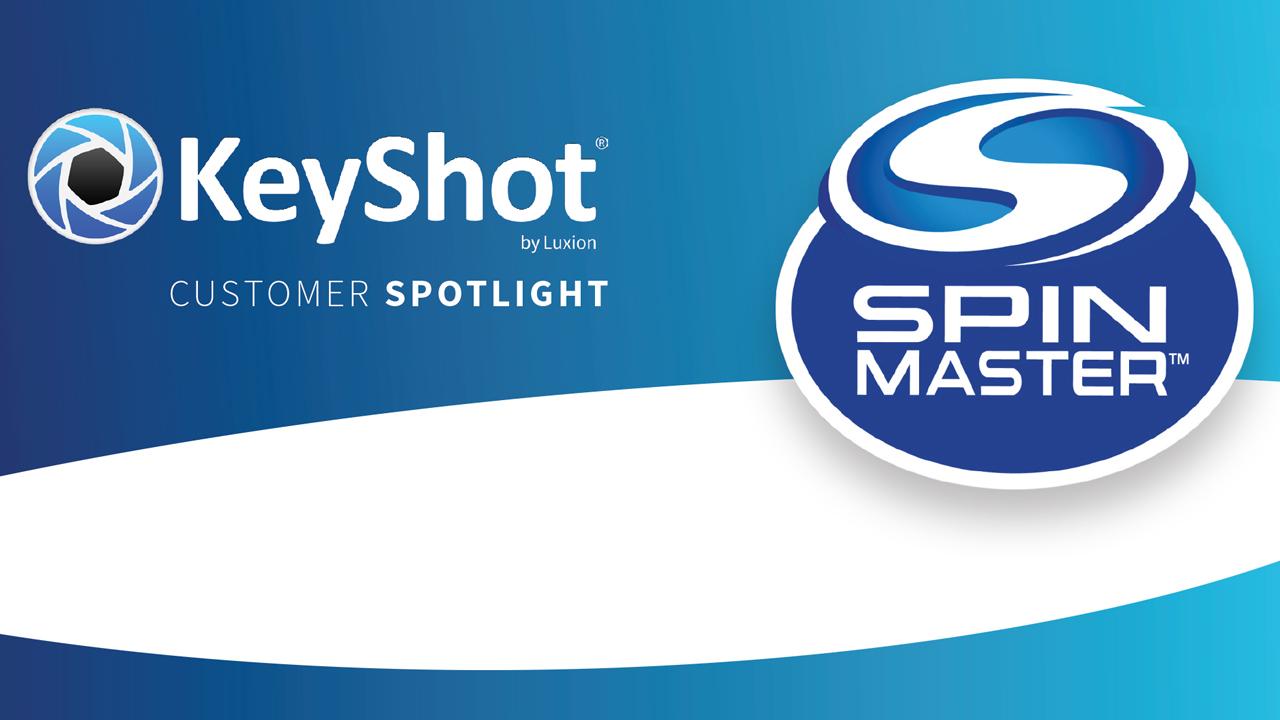 keyshot spinmaster spotlight