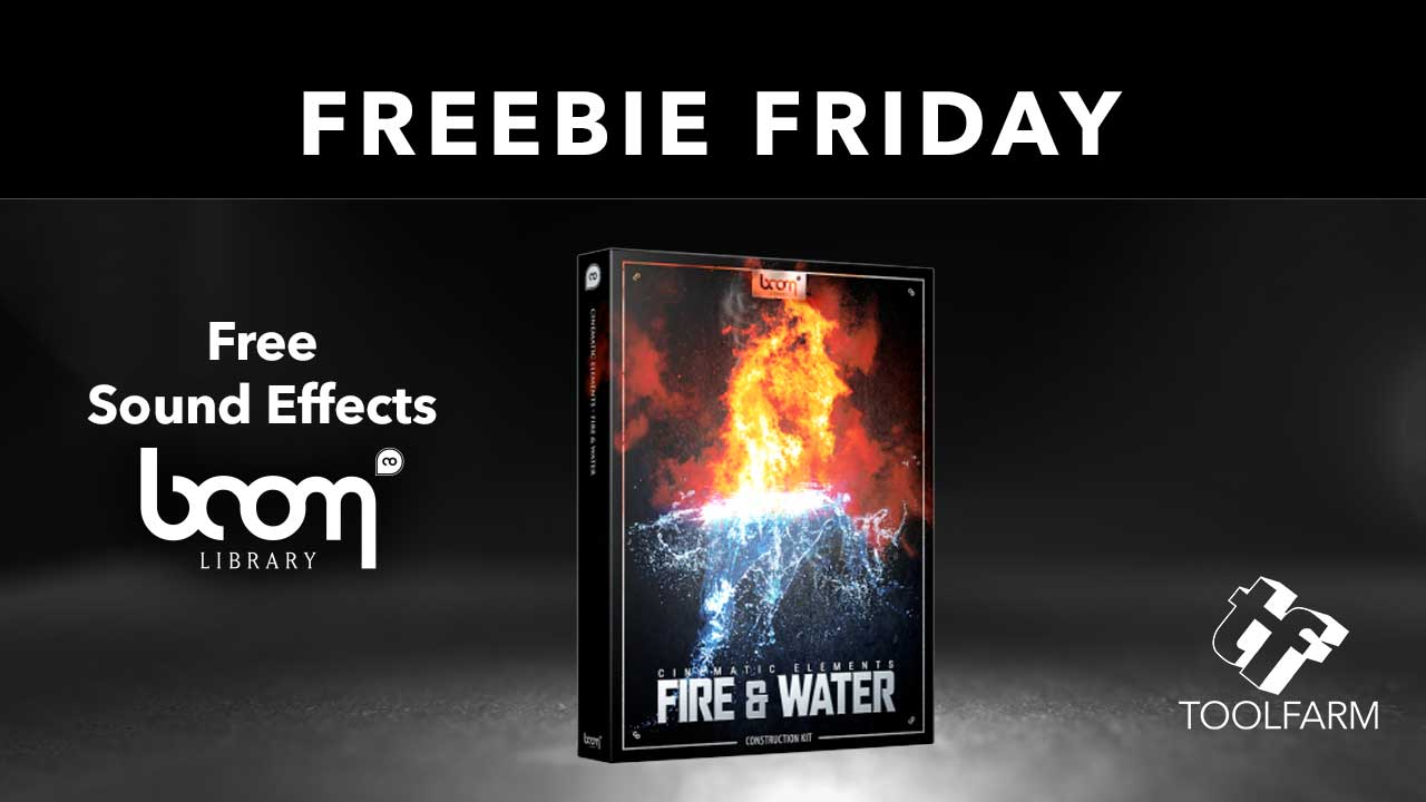 Freebie Friday Boom Library Freee Sound Effects