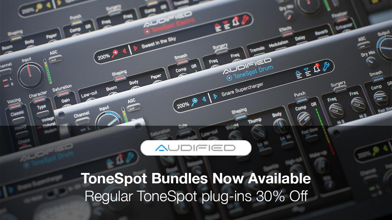 audified tonespot bundle sale