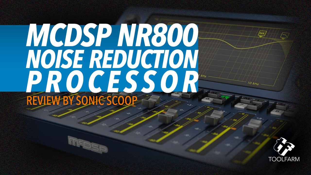 NR800 Noise Reduction Processor by McDSP
