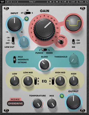 waves mdmx overdrive