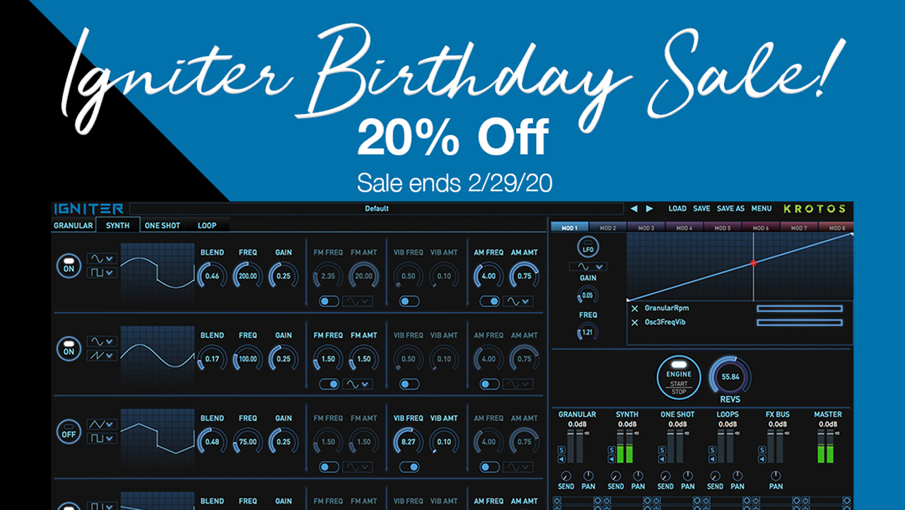 krotos igniter birthday sale