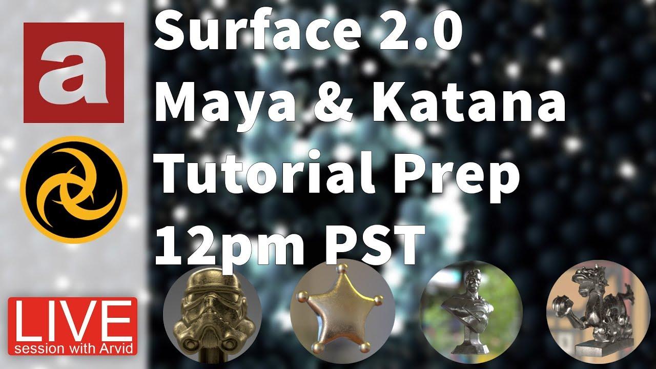 Maya Monday Surface 2.0 App