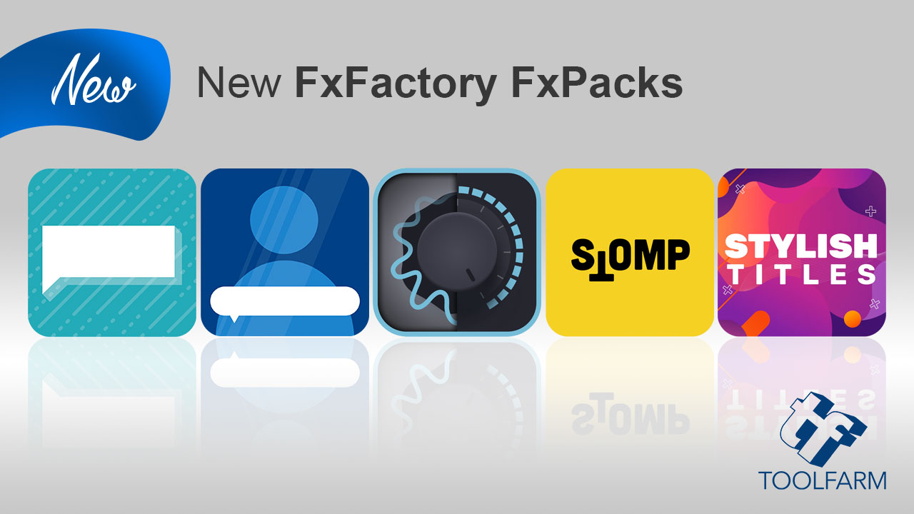 New FxFactory FxPacks from Crumplepop, Stupid Raisins