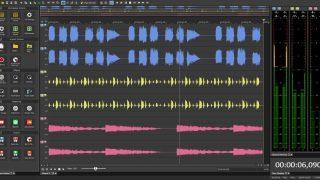 magix soundforge audio studio ui