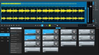 magix sound forge cleaning lab ui