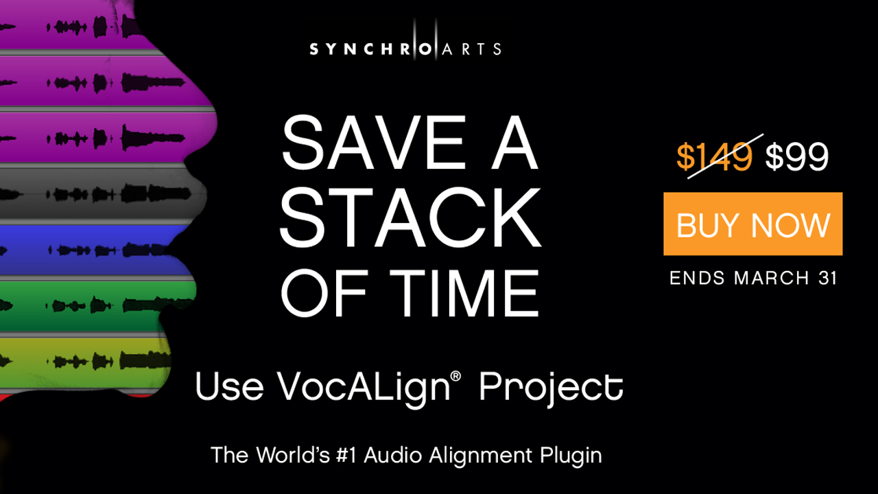 synchro arts vocalign project sale